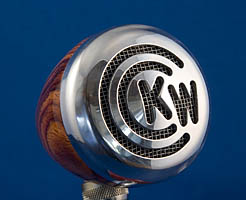 Kim Wilson's BlowsMeAway Wood Mic