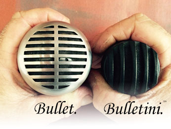 BlowsMeAway Productions Bulletini microphone