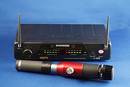 BlowsMeAway Productions wireless microphone system for harmonica