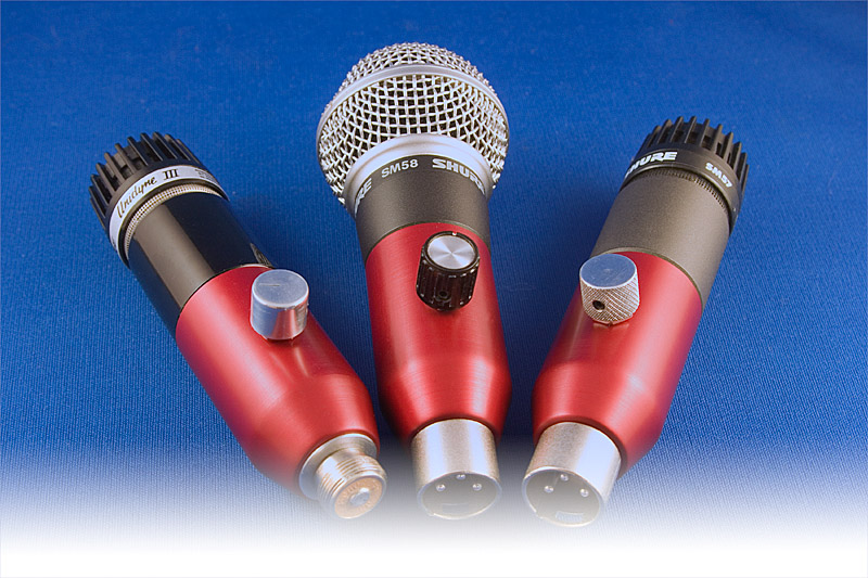 BlowsMeAway Productions Ultimate Series microphones for harmonica